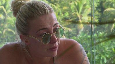 Fanny en pleurs dans l'épisode 6 de La Bataille des Couples
