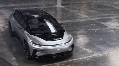 Avec la FF 91, Faraday Future va tenter de faire de l'ombre à Tesla à Pikes Peak 2017