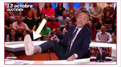 Fashion Hotline de Marc Beaugé : les pieds nus de Yann