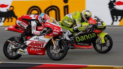 Moto 125 Allemagne : un finish à égalité pour Zarco et Faubel !