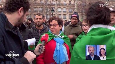 """""""Il faut repartir à zéro"""" : en France aussi, les Algériens se mobilisent contre le 5ème mandat de Bouteflika"""