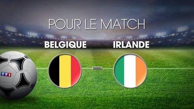 UPDATE MI-TEMPS Belgique - Eire : Découvrez les cotes du match