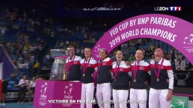 Fed Cup 2019 : victoire de la France !