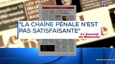 Féminicide : Nicole Belloubet admet des failles de la justice