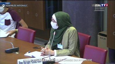 Femme voilée à l'Assemblée nationale : la polémique