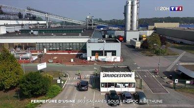 Fermeture d'usine : Bridgestone crée le choc à Béthune