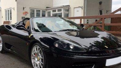 Occasion du jour : L'ex Ferrari 360 Spider F1 de David Beckham