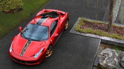 Ferrari 458 Italia : édition spéciale pour la Chine