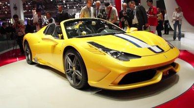 Ferrari 458 Speciale A, ouverte sur le monde - Mondial de l'Automobile 2014