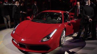 La Ferrari 488 GTB officiellement présentée à Maranello