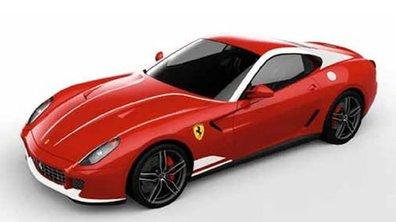 Ferrari 599 GTB 60F1 : édition spéciale en mode Formule 1