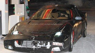 Ferrari 612 Shooting Break : des photos de l'intérieur
