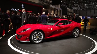 Ferrari 812 Superfast 2017 : Présentation officielle