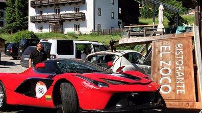 Insolite : La Ferrari Laferrari se crash dans un restaurant