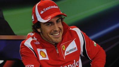 Formule 1 : Fernando Alonso chez Ferrari jusqu'en 2016