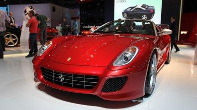 Mondial de l'Auto 2010 : Ferrari SA Aperta, la plus rare de toutes