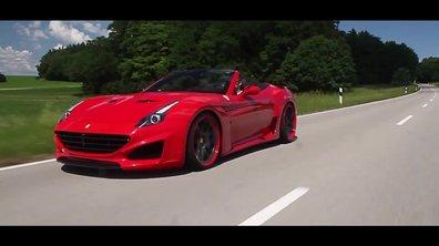 Ferrari rappel 185 California T suite à un risque d'embrasement