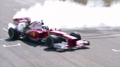 Ferrari Days 2016 - Sebastian Vettel enflamme Hockenheim