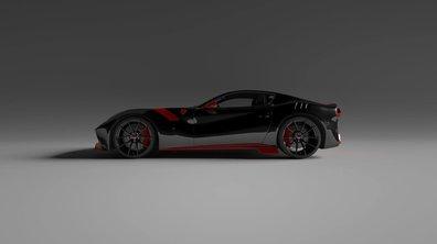 Tuning : une Ferrari F12tdf tout carbone par Vitesse AuDessus