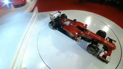 F1 2013 : la Ferrari F138 a levé le voile