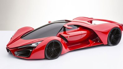Ferrari F80 Concept : un futur hypercar imaginé par un designer italien