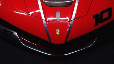 Ferrari FXX K 2015 : présentation officielle