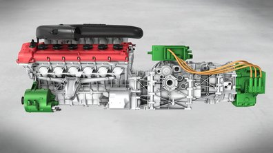 Salon de Pékin 2012 : Ferrari expose un moteur V12 hybride