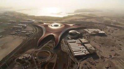 Vidéo : Ferrari présente son parc d'attractions à Abu Dhabi