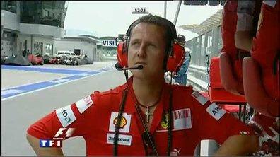 Formule 1 : Premiers tours de roues pour Michael Schumacher