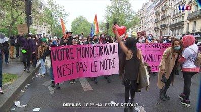 Fête du travail : retour des défilés du 1er mai
