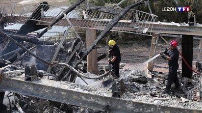 Feu de forêt à Anglet : les pompiers encore mobilisés aujourd'hui pour éteindre les derniers foyers