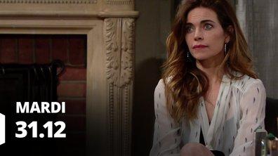 Les feux de l'amour - Episode du 31 décembre 2019