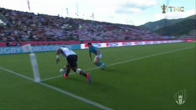 Fidji - Uruguay (5 - 0) : Voir l'essai de Mesulame Dolokoto en vidéo