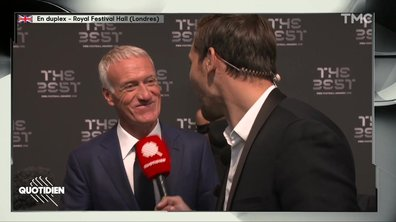 "FIFA Awards - Didiers Deschamps : ""Avec Zidane, on ne va pas se battre"""