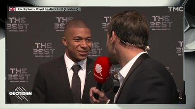 FIFA Awards : Kylian Mbappé tout en élégance (exclu)