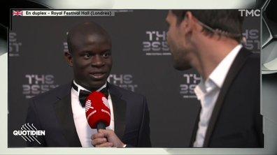 """FIFA Awards - N'golo Kanté : """"J'espère que Deschamps sera entraîneur de l'année"""" (exclu)"""
