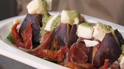 Salade de figues à l'italienne