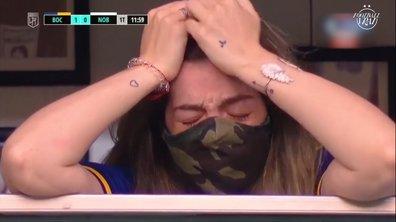 VIDEO - L'immense émotion de la fille de Maradona après l'hommage des joueur de Boca