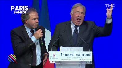 Fillon à la Mutualité : Gérard Larcher à donf