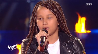 "The Voice Kids 2020 - Finale - Sara chante ""Je te promets"" de Johnny Hallyday (Team Jenifer)"