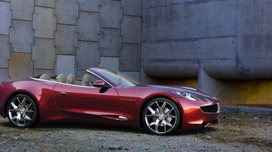 Fisker Karma Sunset : Version cabriolet