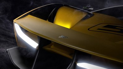 Une deuxième image de la supercar Fittipaldi EF7 Vision GT dévoilée
