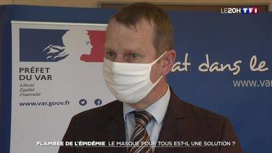 Flambée de l'épidémie : le masque obligatoire est-il la solution ?