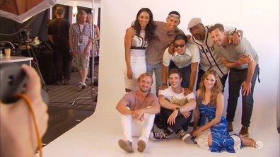 Séance photos pour les acteurs de Flash