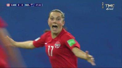Canada - Nouvelle-Zélande (1 - 0) : Voir le but de Fleming en vidéo