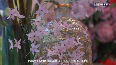 Fleurs artificielles : le plastique sublimé