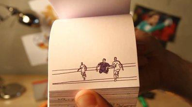 Vidéo insolite : Les plus beaux buts de la Coupe du Monde dans un incroyable flipbook