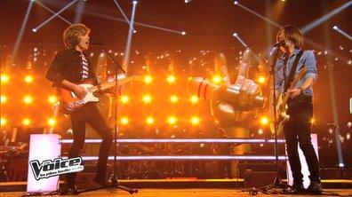 The Voice 3 - Les rockeurs Flo et Roman ont retourné la scène, aucun n'est éliminé !