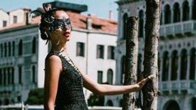 Le shooting ultra-glamour de Flora Coquerel à Venise