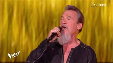 Florent Pagny « Rafale de vent » en direct pour la finale de The Voice 2019